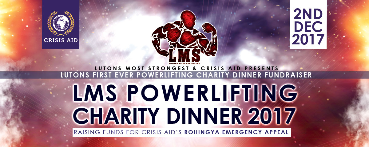 Luton's Most Strongest Powerlifting Charity Dinner Event